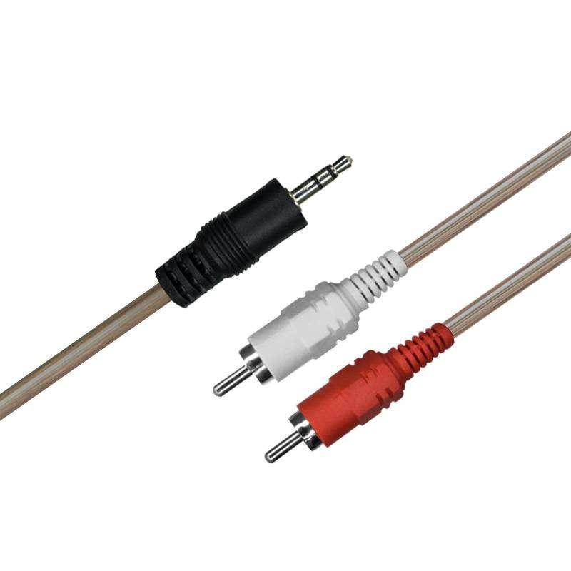 Cable 2x1 Transparente Rxe 5 Mts