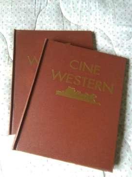 Cine Western Enciclopedia Cine del Oeste 2 tomos 1997 Planeta España