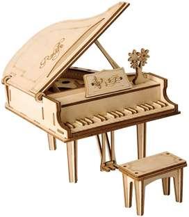 Rompecabezas en 3d de madera - Piano