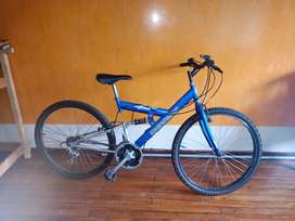 Vendo cicla de cambios color azul en buen estado