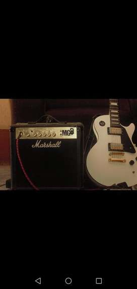 Vendo Guitarra Freman Más Amplificador