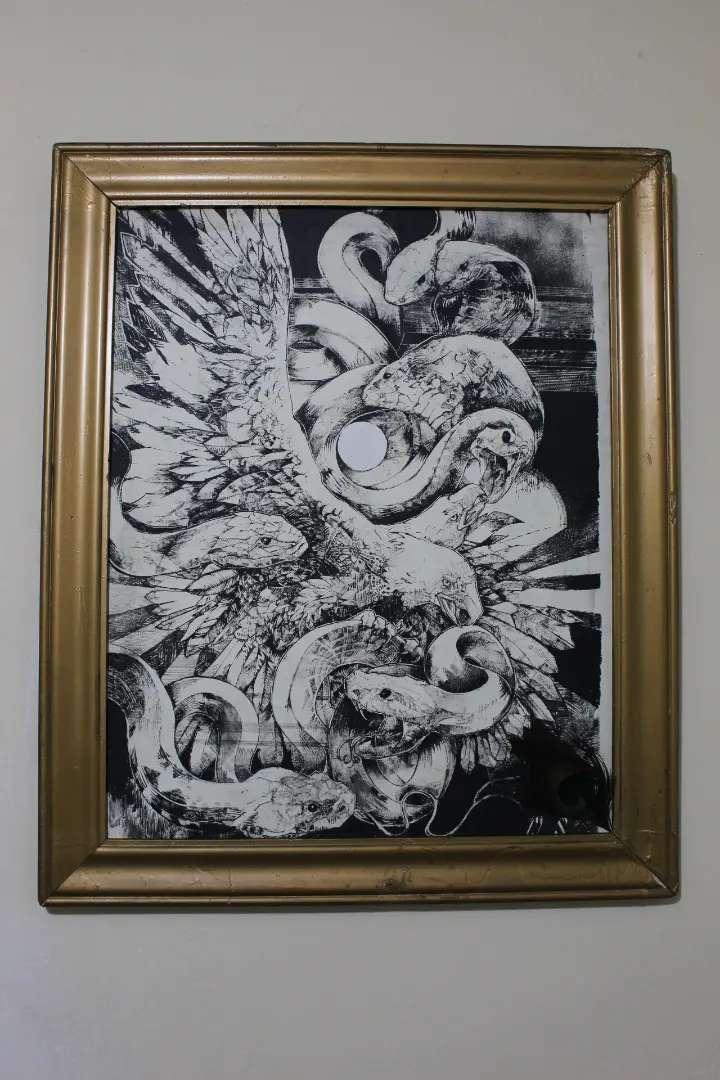 Cuadro Serigrafía Águila y Víboras