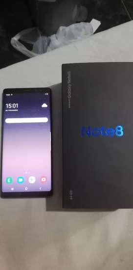 Samsung note 8 libre en caja