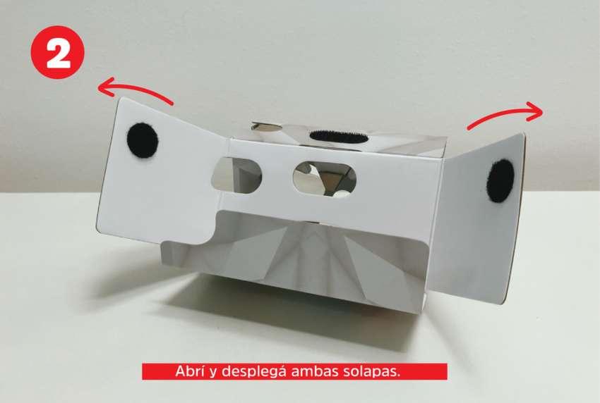 Cardboard para smartphone videos en 360 grados 0