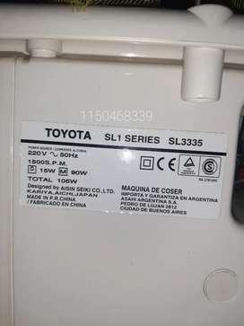 Máquina de coser overlock Toyota 4 hilos