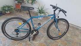 Bicicleta todo terreno clásica