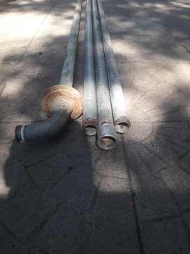 caños para pozo de agua galvanizados con rosca