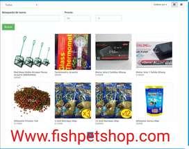 Venta de accesorios y alimento para peces online