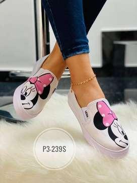 Zapatos con Imagen de Minnie (Disney)