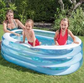 Piscina inflable 163x 46cm intex para niños