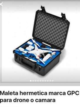 Maleta Hermetica Marca Gpc para Drone O Camara