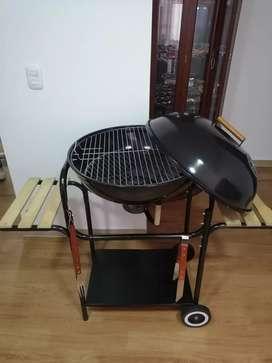ASADOR MEDIANO BBQ y utensilios