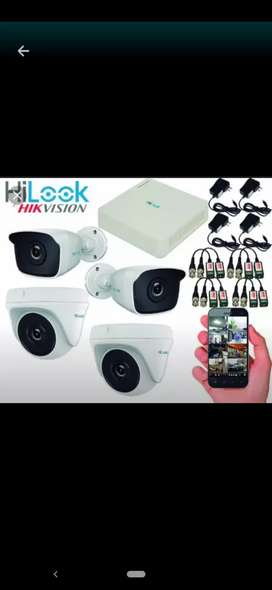 Soporte e instalación cámaras seguridad Hiklook