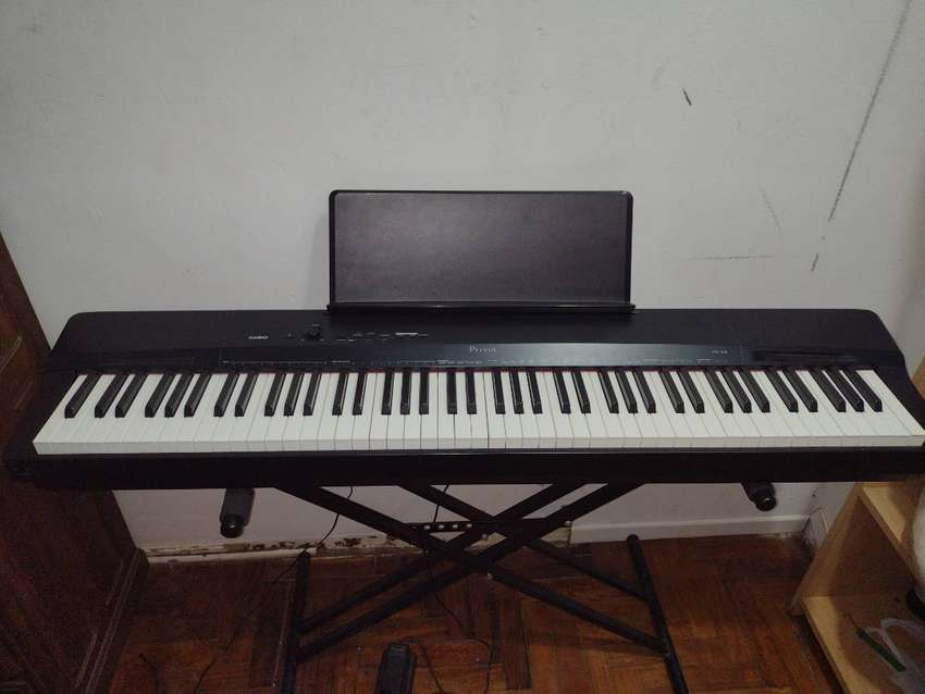 Piano Digital Casio Privia PX160 + Pedal Sustain WTB-005 + Soporte Tijera Doble Regulable