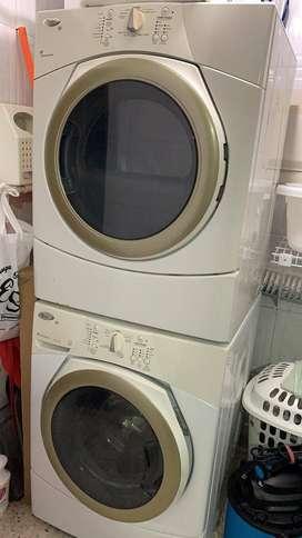 Vendo lavadora y secadora por motivo de viaje