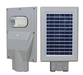 Lampara Para Exterior Solar Led De 30w