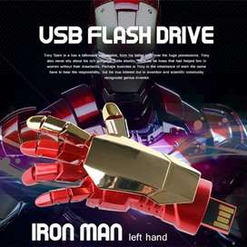 Usb de mano de Iron man