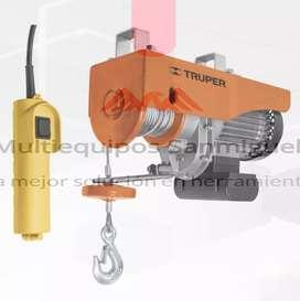 Wincher eléctrico Truper 600 kilos