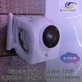 Cámara Vigilancia Wifi Internaexterna