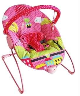 Silla Antireflujo Vibradora para Bebés