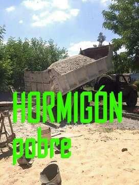 HORMIGON POBRE...IDEAL CONSTRUCCION!!