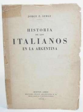 Historia De Los Italianos En La Argentina.