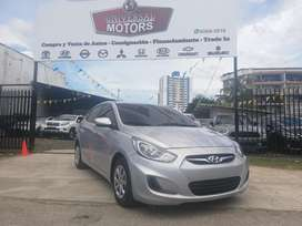 Hyundai Accent 2013 Manual Impecable
