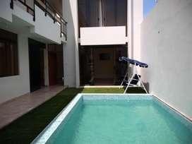 Alquilo Casa - Punta de Bombon - Piscina