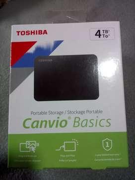 Disco duro 4TB 3.0 toshiba