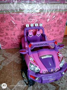 Hermoso carro para niñas