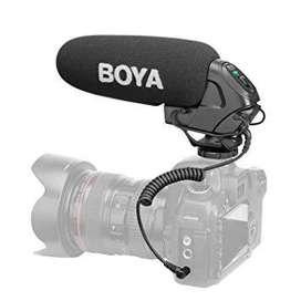 Microfono Condensador Boom Boya By-bm3030 Camara Dslr