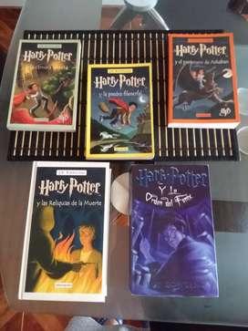 Venta libros Harry Potter
