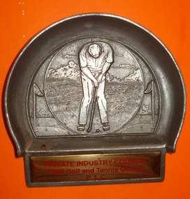 Exquisito Trofeo de Golf de la Private Industry Council 1990