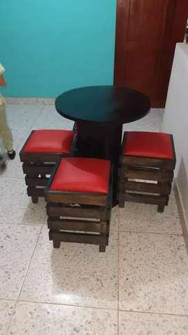 Fabrica de muebles para negocios en pino