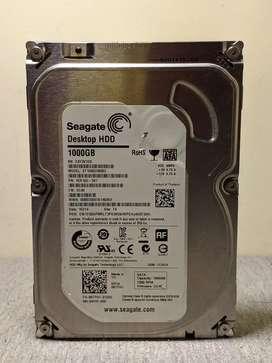 Disco duro - 1 TB ( Seagate ) En perfecto estado ( 100% de salud )
