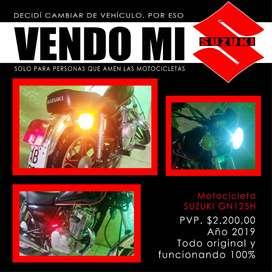 VENDO Moto Suzuki GN 125 H 2019