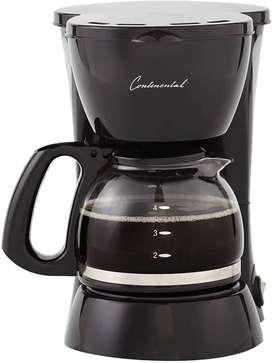 Cafetera 4 tazas  Continental, PRODUCTO NUEVO