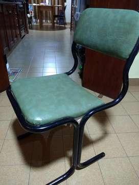 Vendo cinco sillas