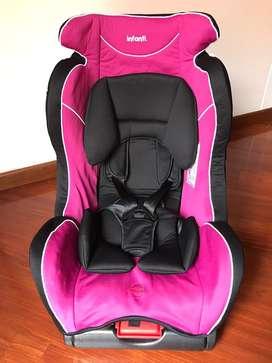 Silla de carro para bebé USADA marca Infanti