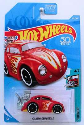Hot Wheels Volkswagen Beetle Red