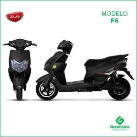 GreenLine Moto Eléctrica ZUB F6