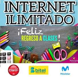 INTERNET ILIMITADO 4G