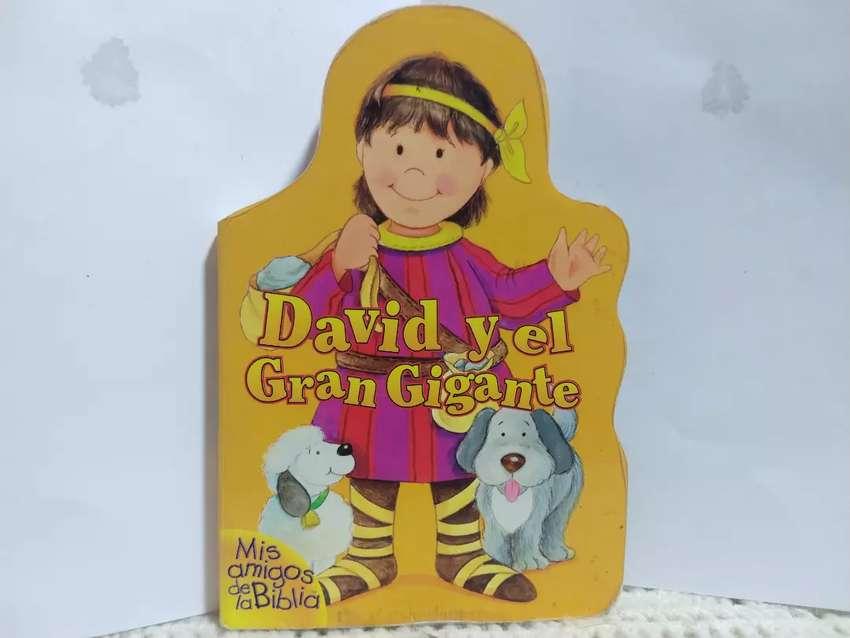David y el Gigante - cuento infantil 0
