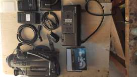 Cámara Sony video 8 x10