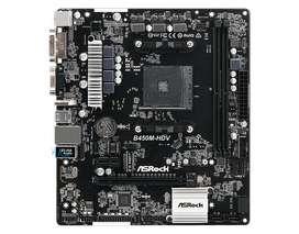 Board Asrock B450m Pro4 Amd Am4 Ddr4 Ryzen B450