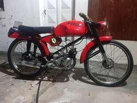 Moto bgh Ferrari 49cc  funcionando perfecto