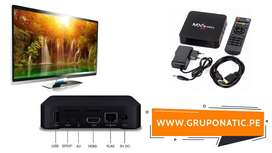 Convertidor Smart Tv 4k Amlogic Tv Box Gruponatic San Miguel Surquillo Independencia La Molina Whatsapp 941439370