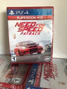 Need For Speed Payback Ps4 Nuevo Fisico