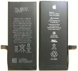 Batería original para Iphone 7 y Iphone 7 Plus nuevas cero ciclos garantizadas instaladas a domicilio