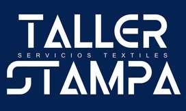 Servicios Textiles Estampado sublimado corte de vinilo..